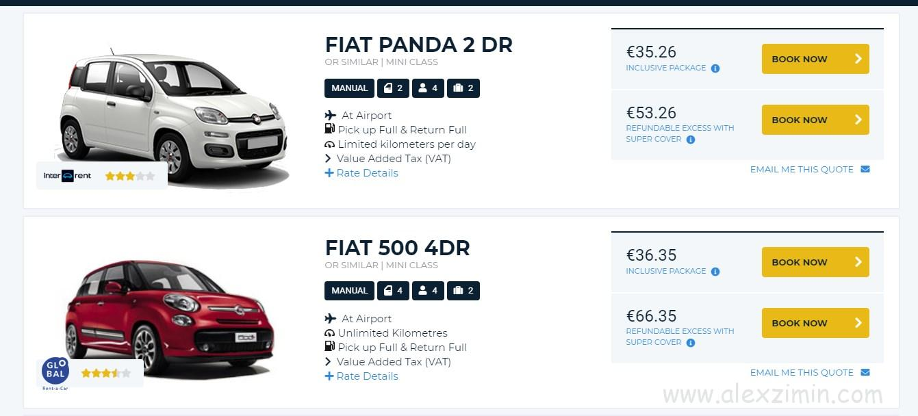 Самые низкие цены на авто в Дюссельдорфе на мои даты