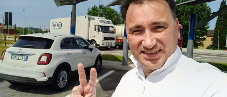 Алексей Зимин. Маршруты по ИТалии из Рима на арендованной машине