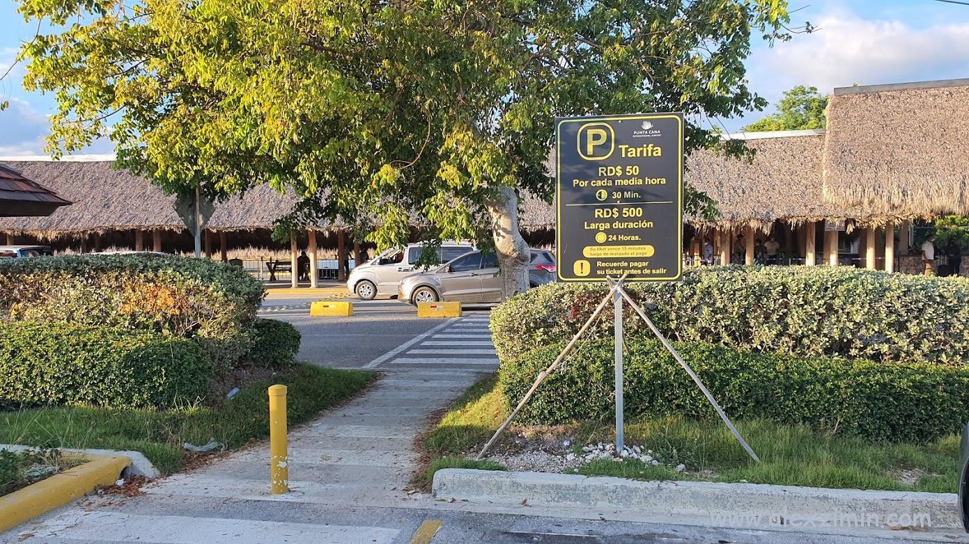 Стоимость парковки в аэропорту Пунта-Кана