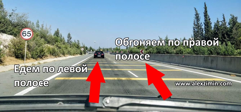 Как ехать на Кипре